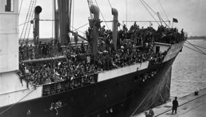 Habana-llega-Southampton-ninos-vascos-25-mayo-1937